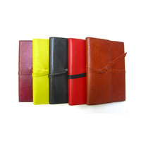 A6 Wrap Journal Antique  Kangaroo leather