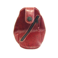 AK1143 Coin Case Antique Kangaroo leather