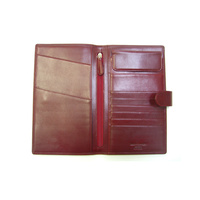 AK3164 Passport Wallet Antique Kangaroo leather