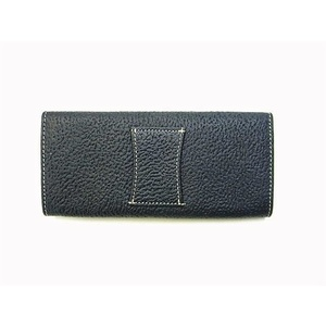 KP5101 Spectacle Case Navy/Beige Kangaroo leather