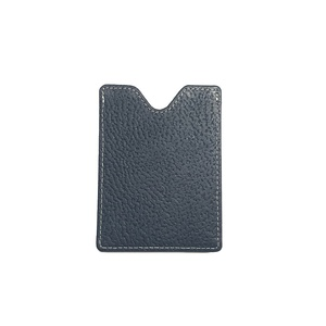 KP5117 Magnetic Money Clip Case Navy/Beige leather