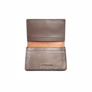 MVW67 Card Case Three Tone Cow leather