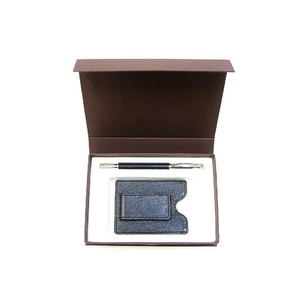 KW3 Money Clip & Pen Kangaroo leather Gift Set