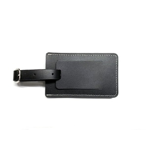VW 7632 LEATHER LUGGAGE TAG