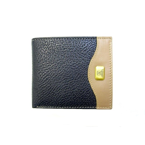 KP2074 Navy/Beige Kangaroo leather