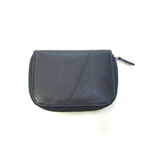 VW3172 Black Cow leather